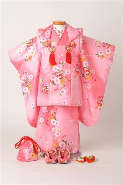 ピンク色被布