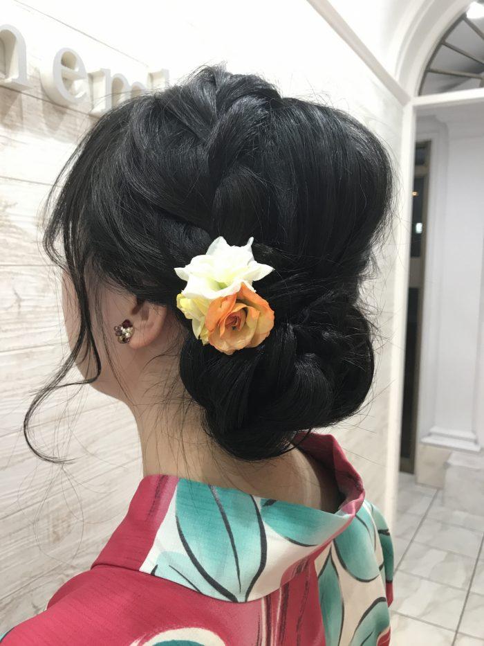 着物に似合う髪型特集!instagramで見つけたヘアアレンジ♡